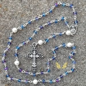 Stained Glass Rosary
